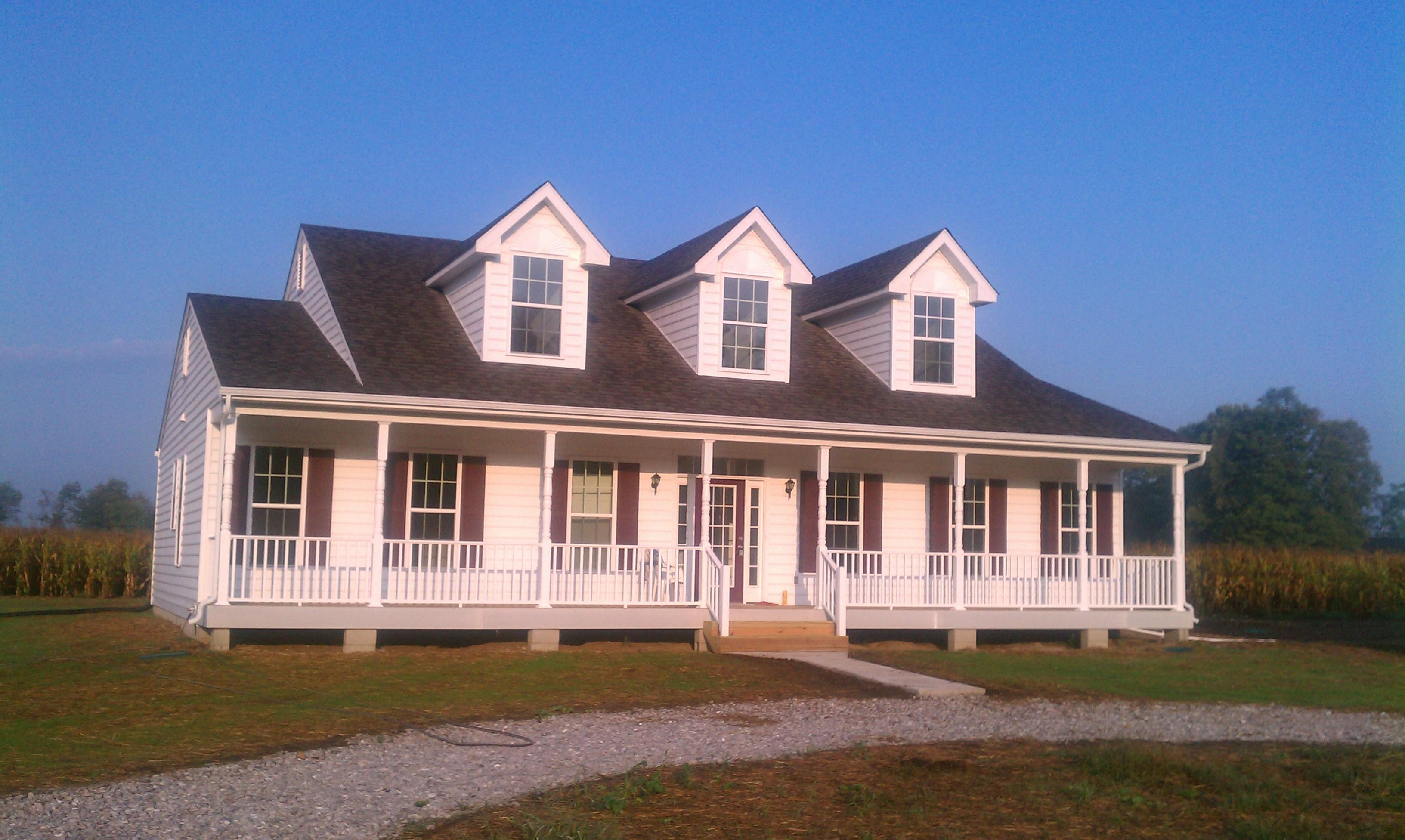 Lockridge homes custom built on your land in farmville va for Homes to build on acreage