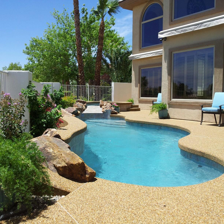 Pebble Stone Coatings 3210 W Desert Inn