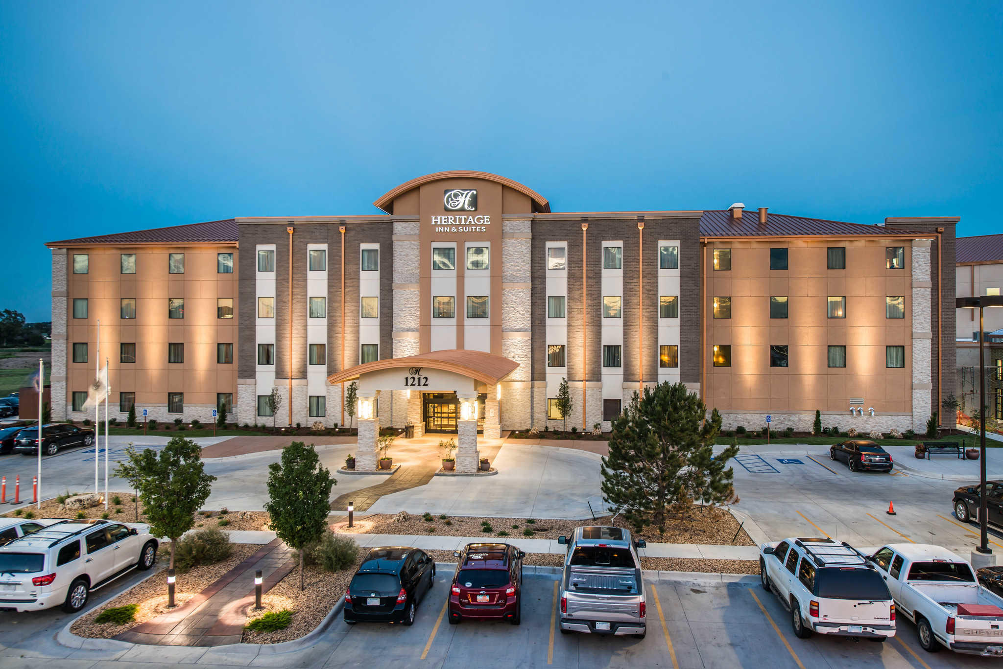 The Heritage Inn Suites An Ascend Hotel Collection Member Garden City Kansas Ks