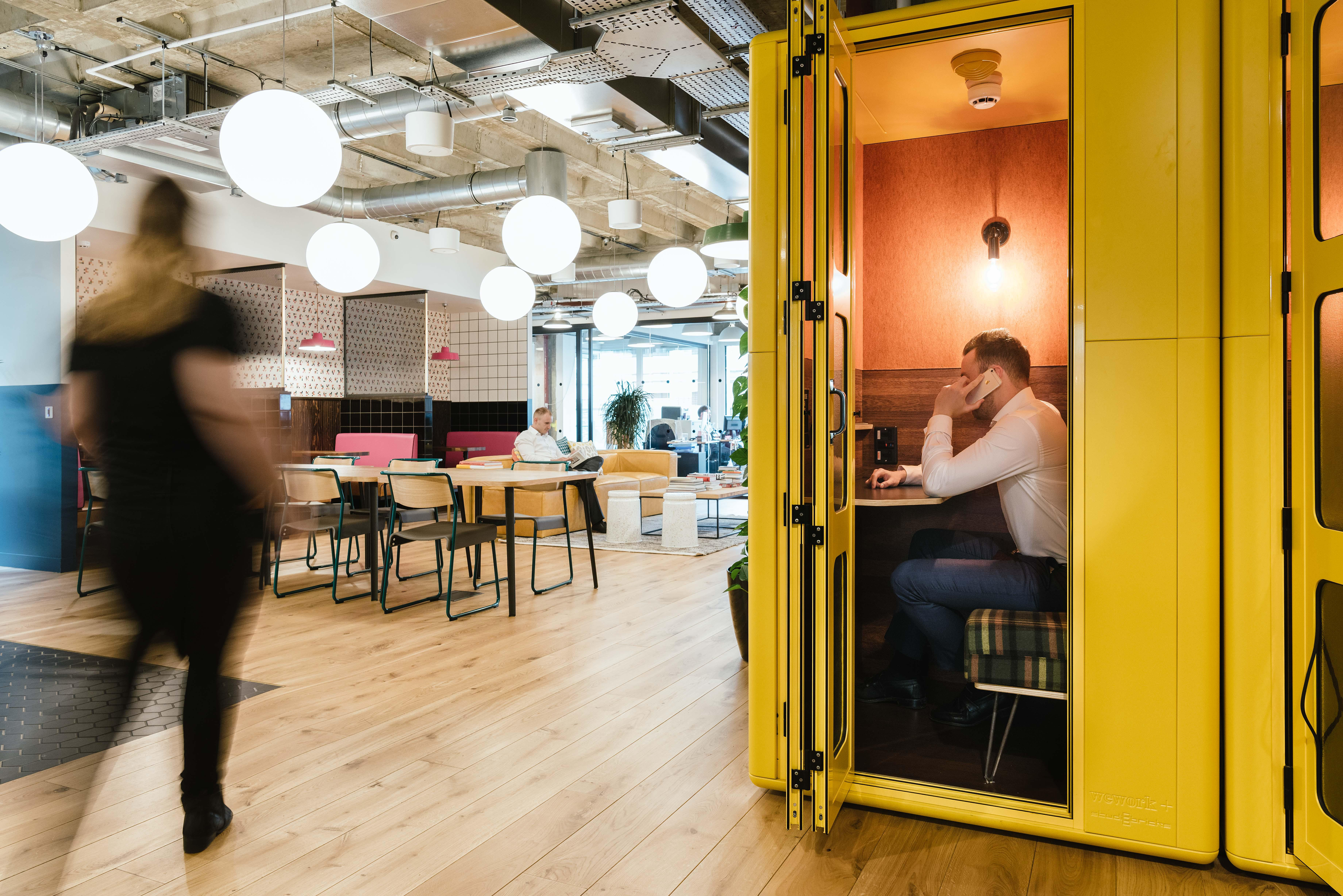 Phone Booth WeWork 33 Queen St London 020 3695 7895