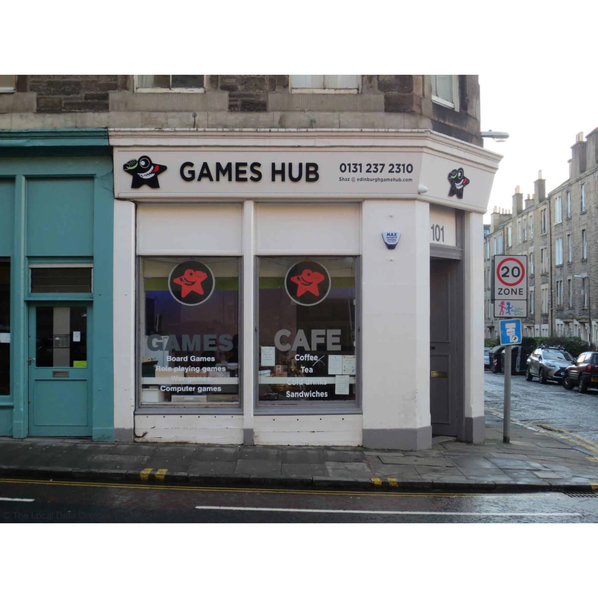 Games Hub Edinburgh