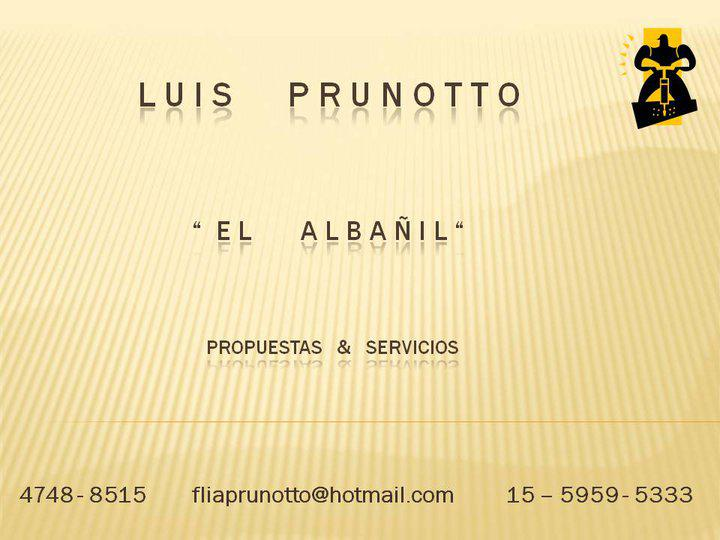 LUIS PRUNOTTO