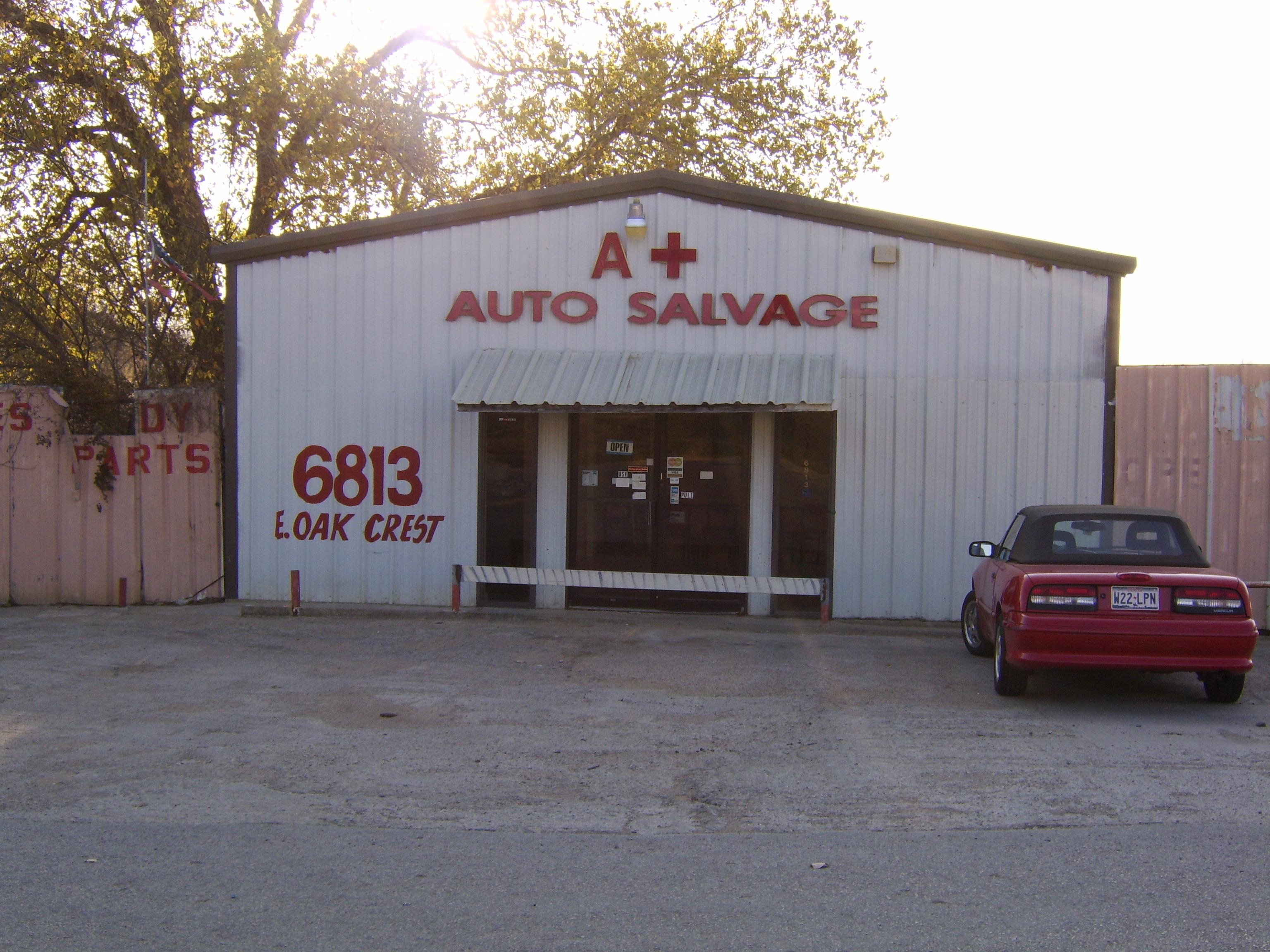 Honda Express Service Fort Worth U003eu003e A Plus Auto Salvage   Fort Worth, TX