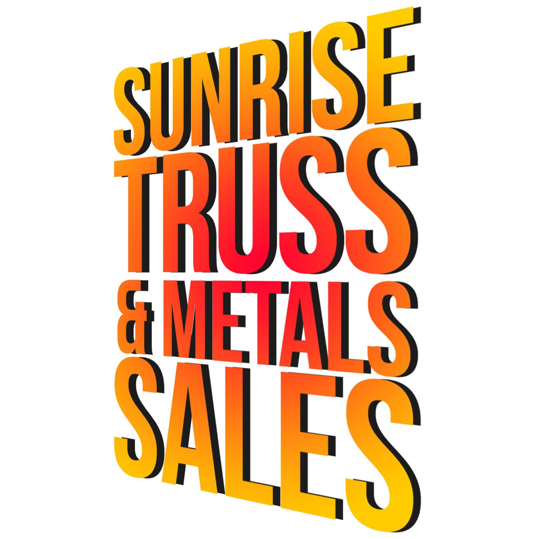Sunrise Truss & Metal Sales - Belleville, AR - Lumber Supply