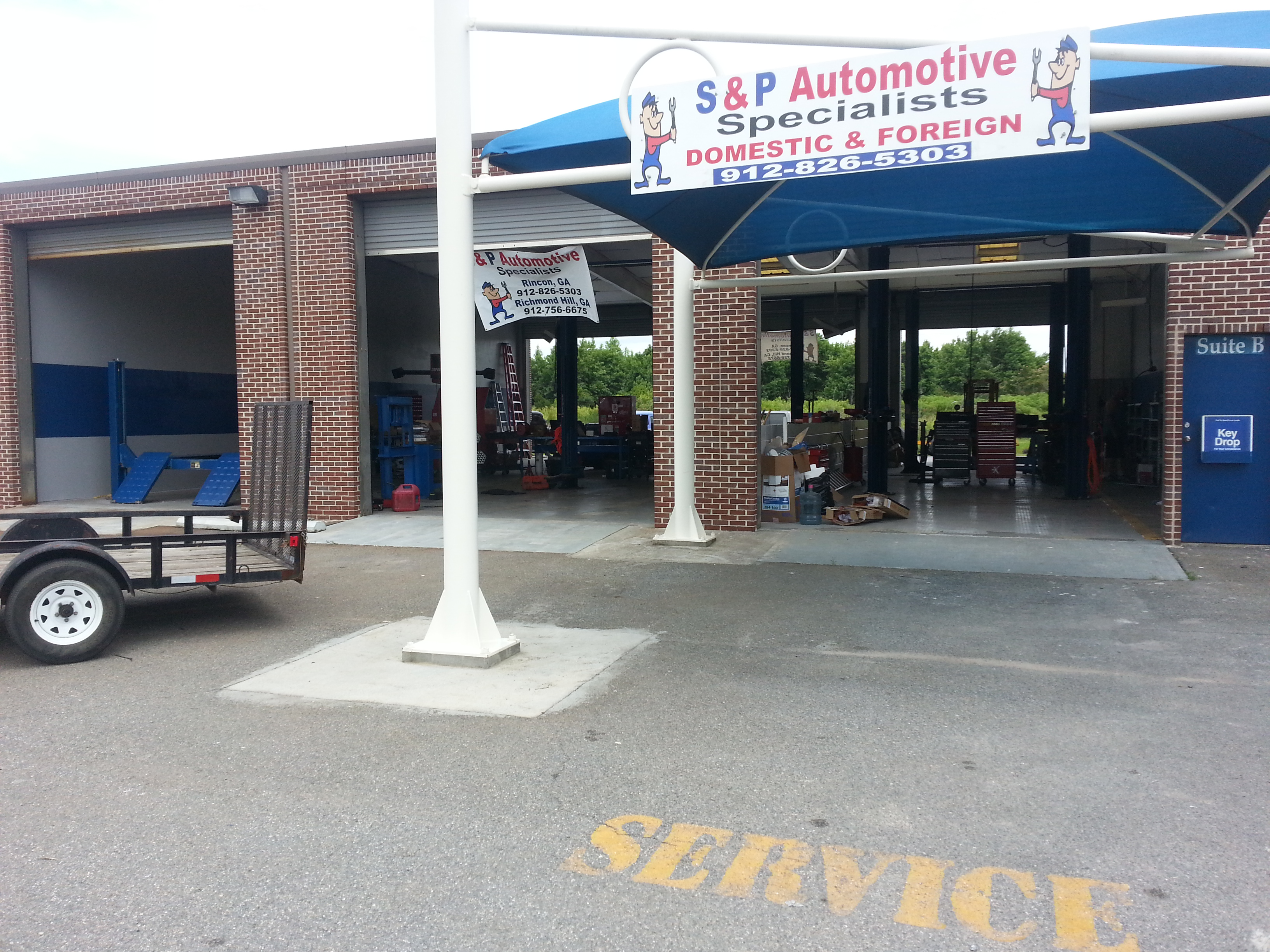 S p automotive specialists richmond hill georgia ga for Savannah motors richmond va