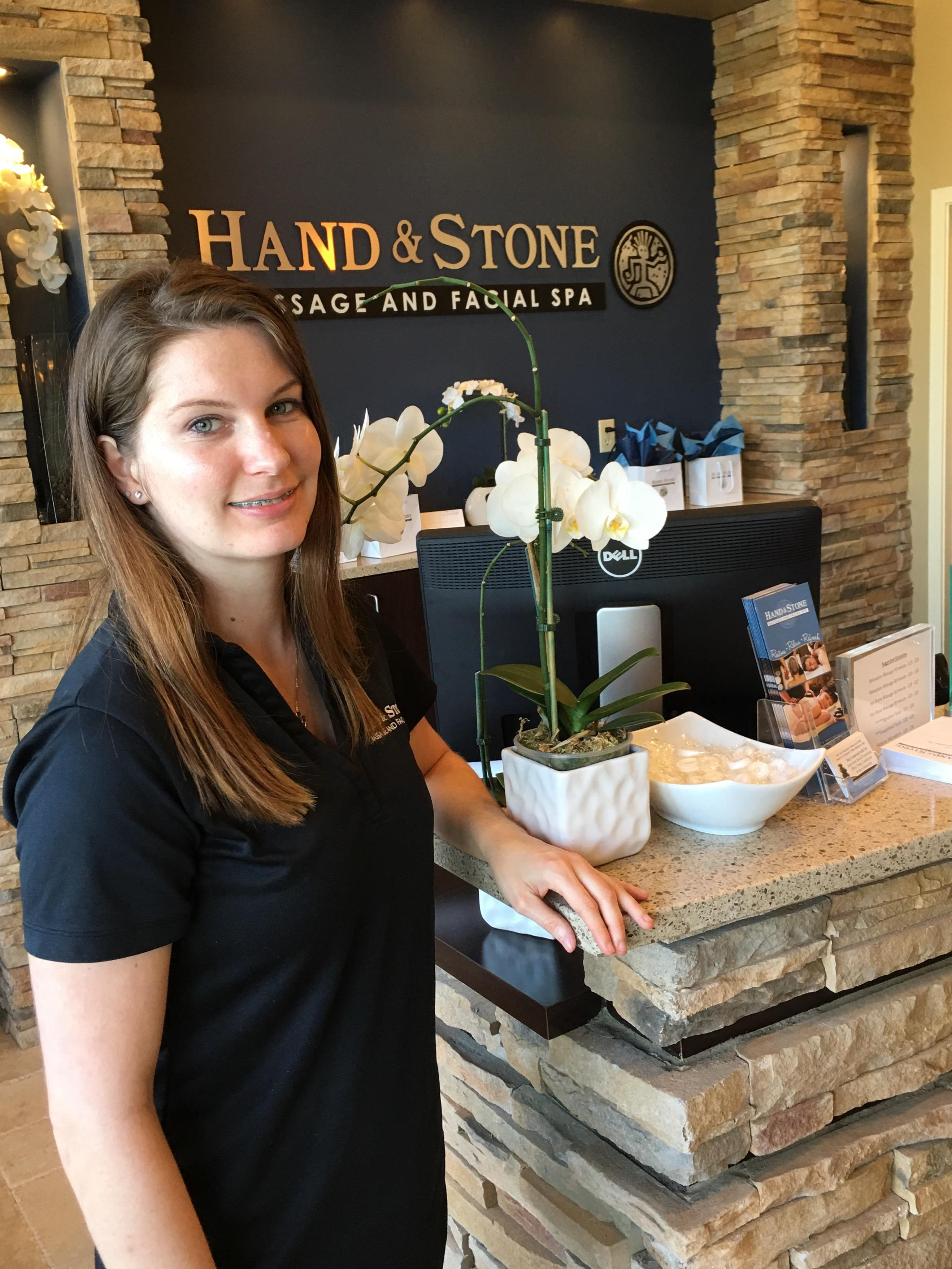 Our Massage is a customized 50 or 80 minute full body Massage that targets your problem areas where stress and tension exist. We offer many different kinds of Massage from our Signature Hot Stone, our NEW Himalayan Salt Stone Massage to Sports to Pregnancy! Call our front desk to get more details.