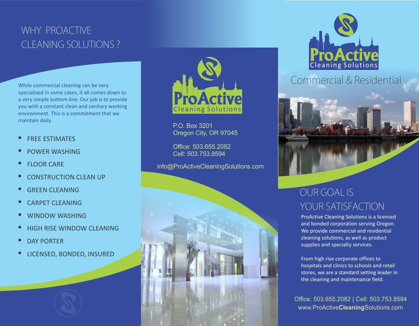 ProActive Cleaning Solutions, LLC