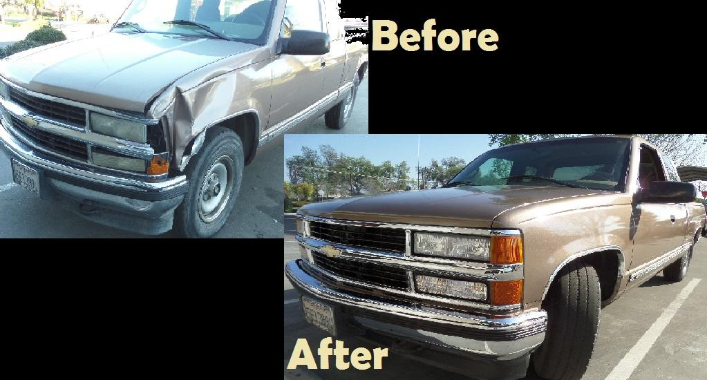 Automotive body repair near me