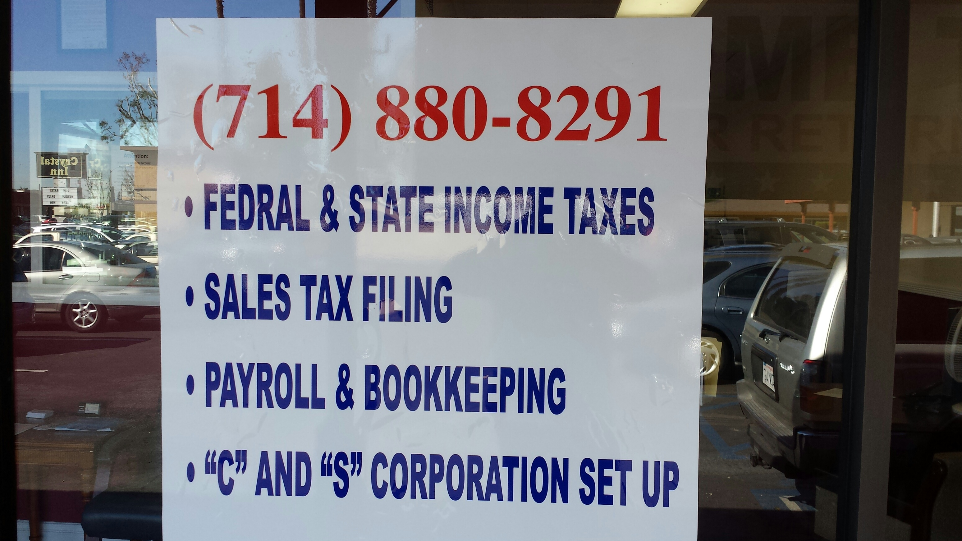 Anaheim Tax Services - ad image