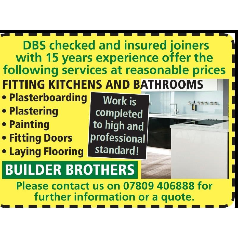 Builder Brother's - Hinckley, Leicestershire LE10 2AW - 07809 406888   ShowMeLocal.com
