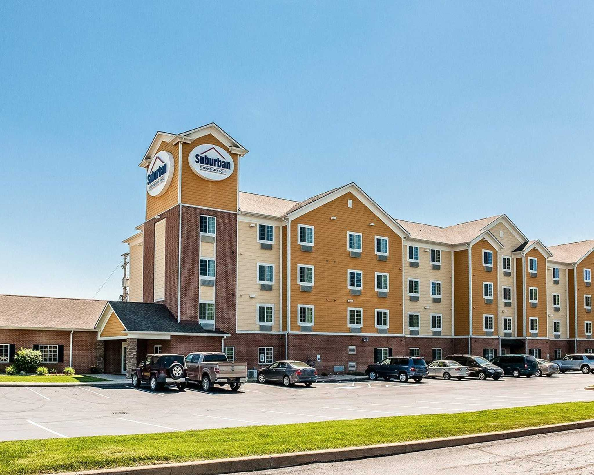 suburban extended stay hotel south bend indiana in. Black Bedroom Furniture Sets. Home Design Ideas