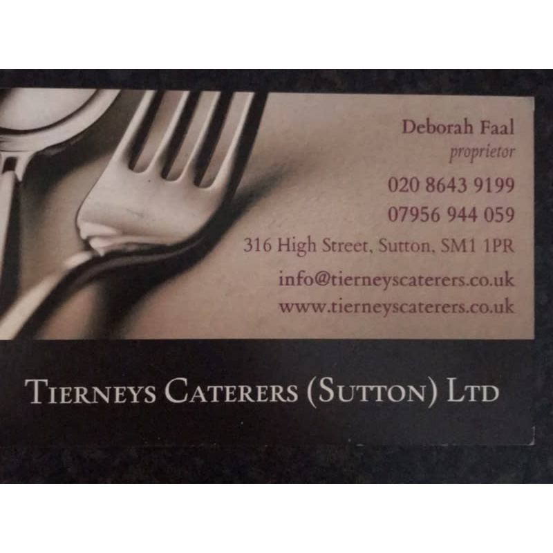 Tierney's Caterers Logo