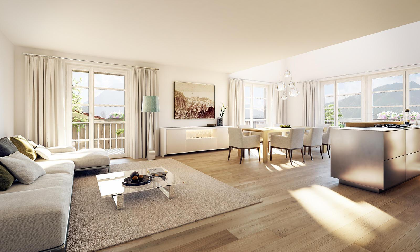 Foto de Quartier Tegernsee – Exklusive Eigentumswohnungen & Appartements