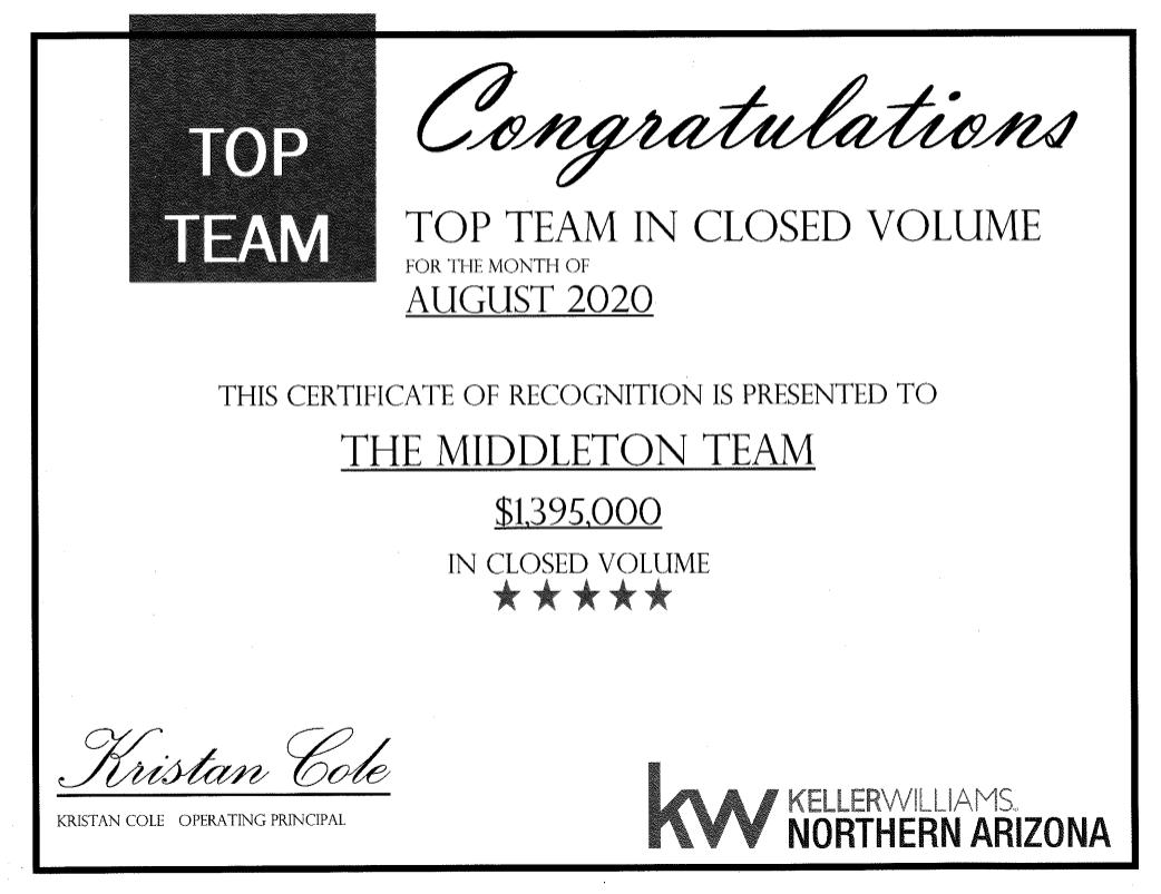 The Middleton Team: Keller Williams Northern AZ