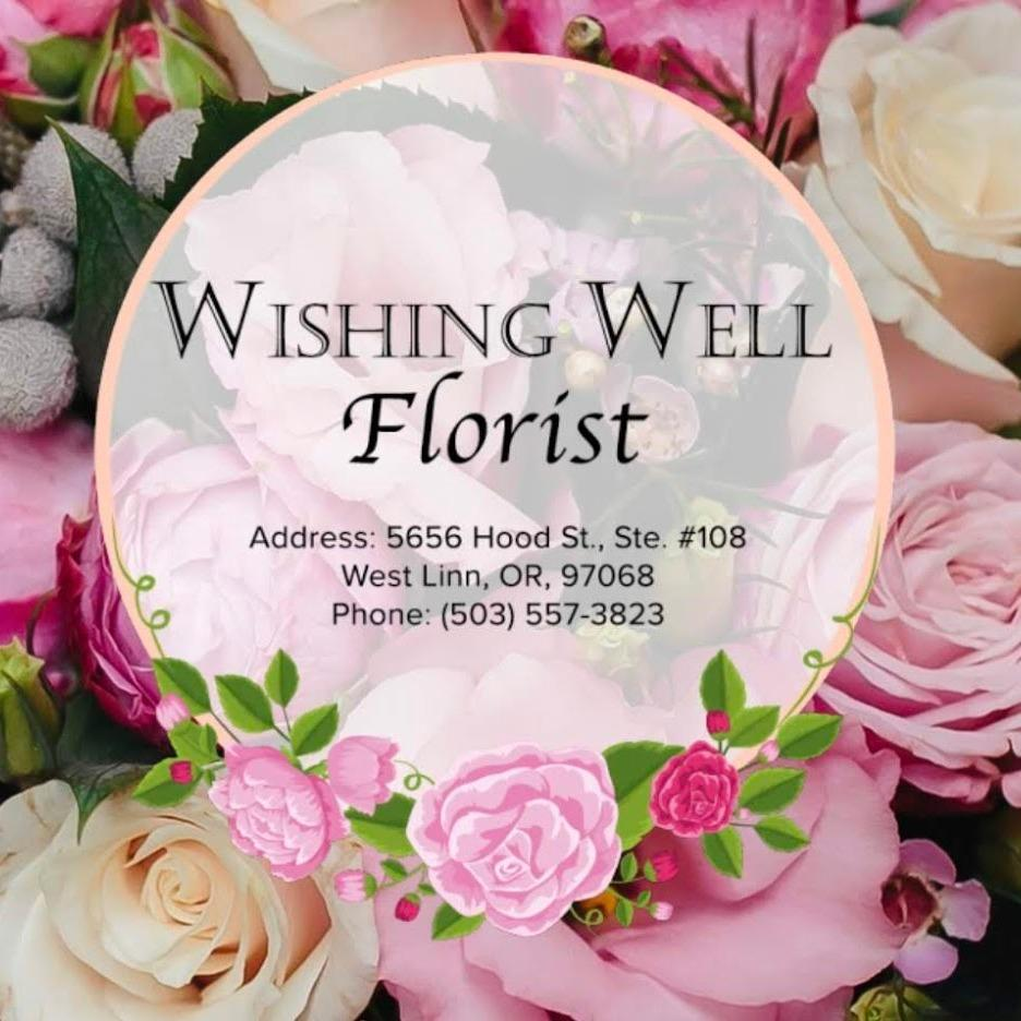 Wishing Well Flowers and Gift