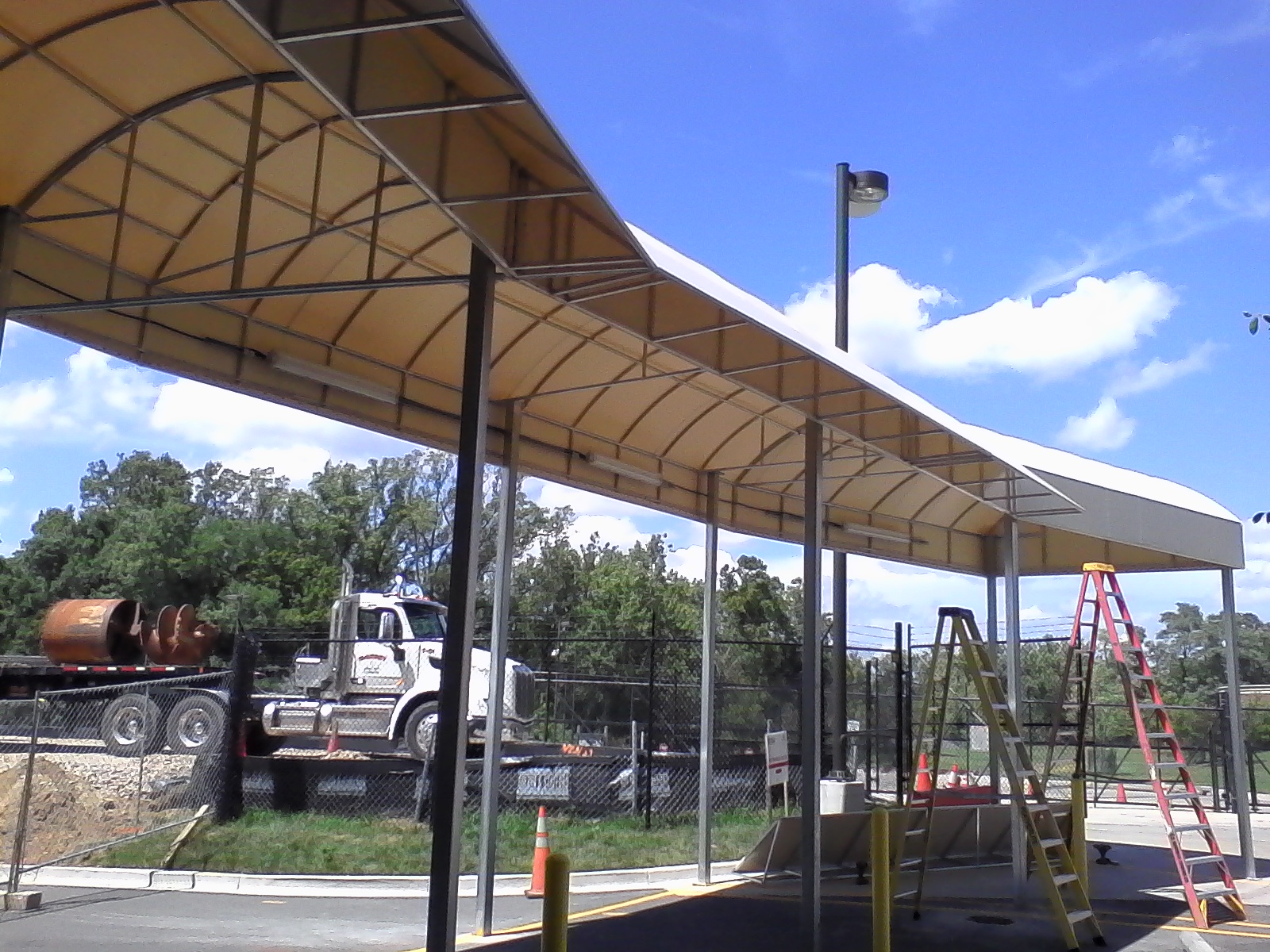 Contoured Entrance Canopy Awning Baltimore A. Hoffman Awning in Baltimore     410-685-5687