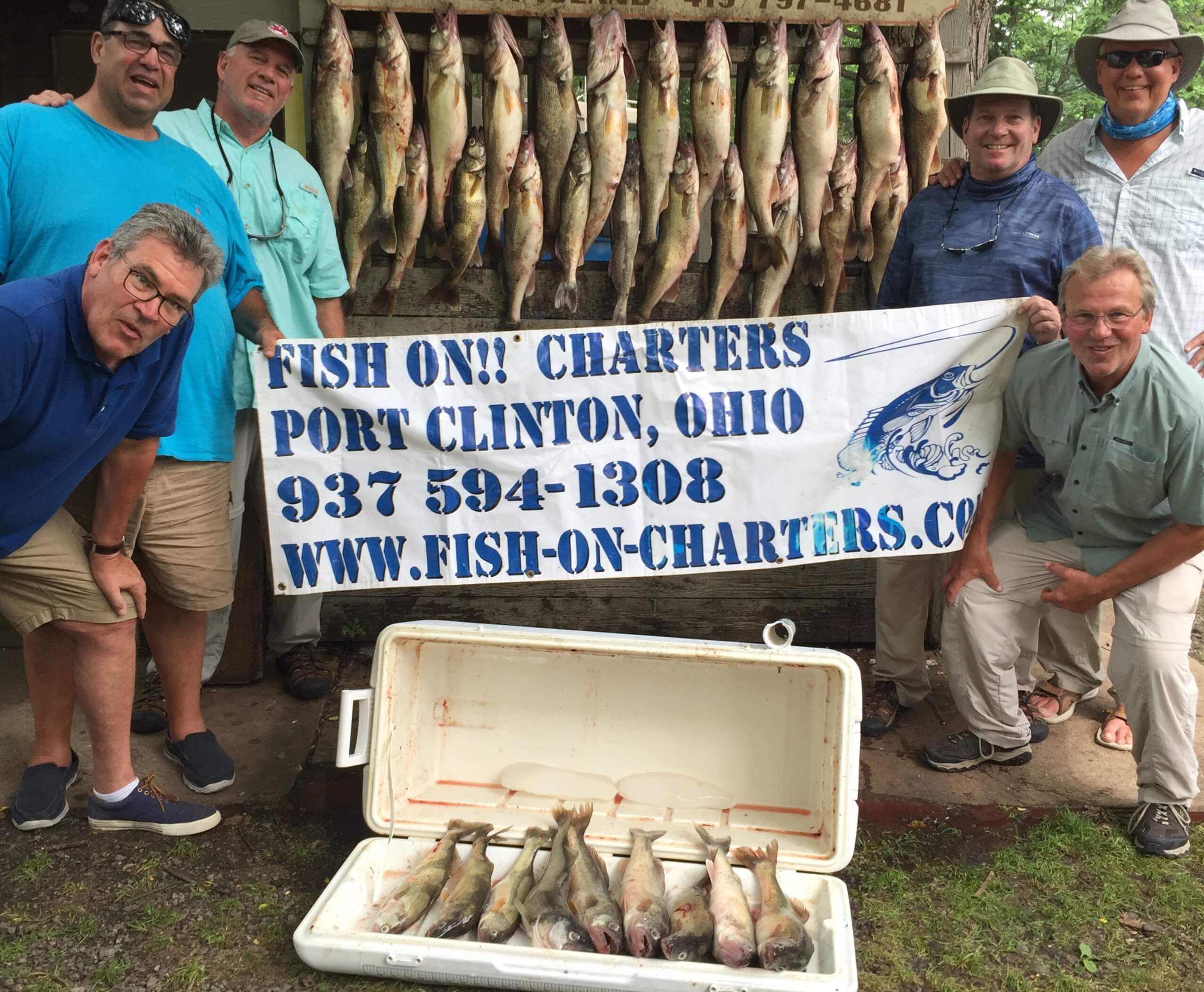 Fish on charters in port clinton oh 43452 for Port clinton fishing charters