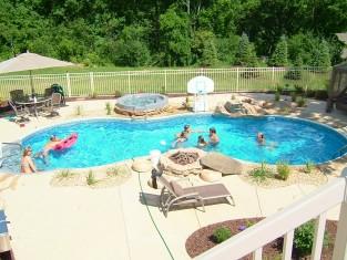 Swimming Pool Creations And Installation Pool Maintenance Hartland Wi