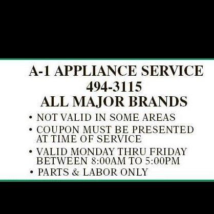 A-1 Appliance Service - San Antonio, TX - Appliance Rental & Repair Services