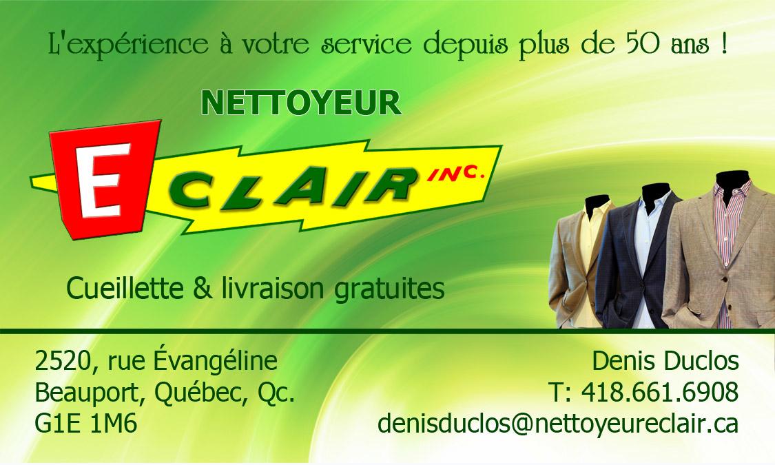 Nettoyeur Eclair Inc à Québec