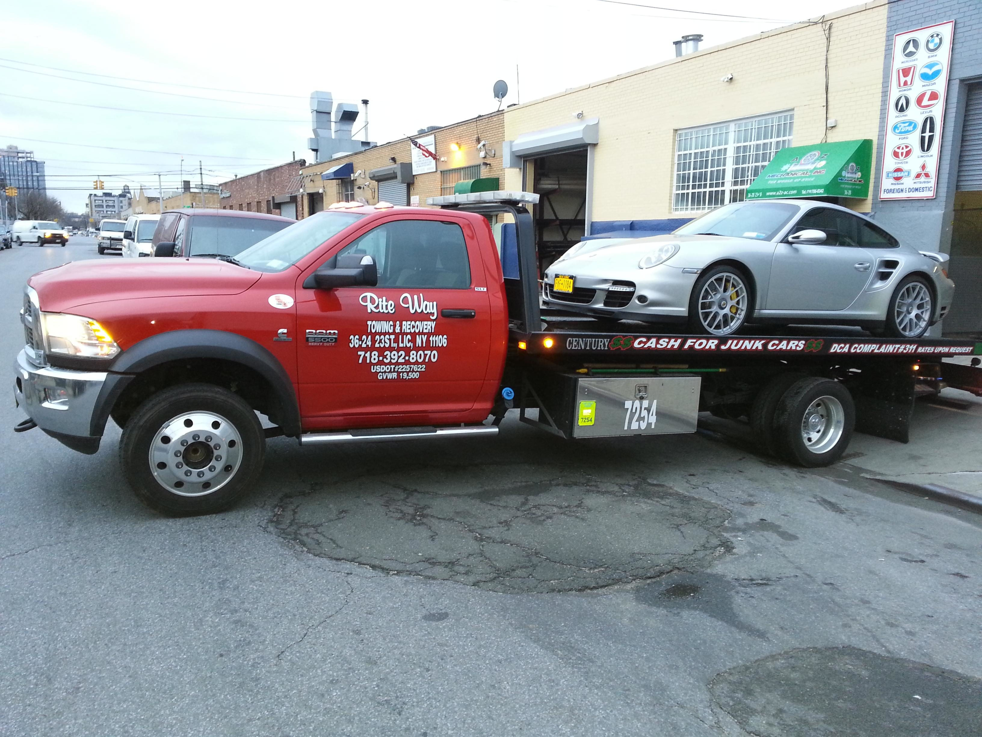 Rite Way Towing & Recovery Inc. of NYC image 0
