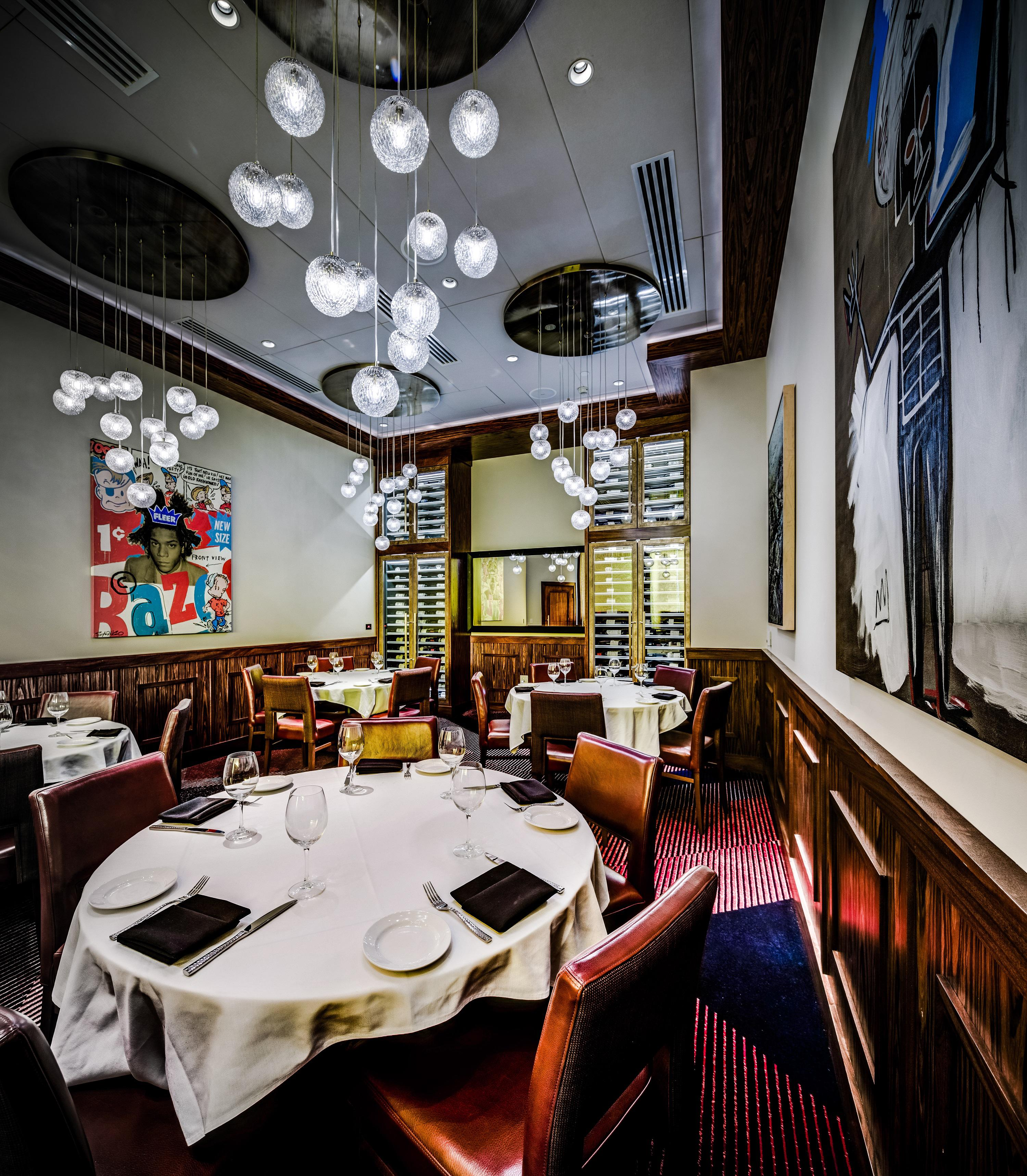 Del Frisco's Double Eagle Steakhouse Los Angeles Century Room private dining room