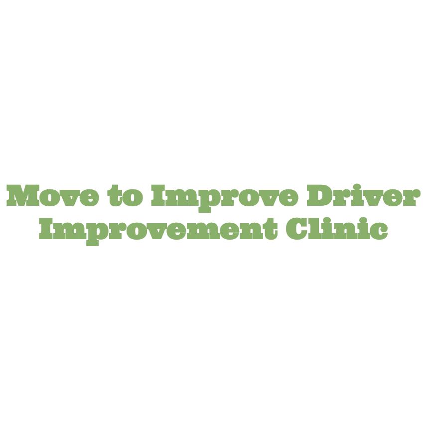 Move to Improve Driver Improvement Clinic