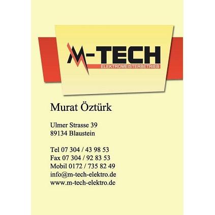 Bild zu M-Tech Elektromeisterbetrieb, Inh. Murat Öztürk in Blaustein in Württemberg