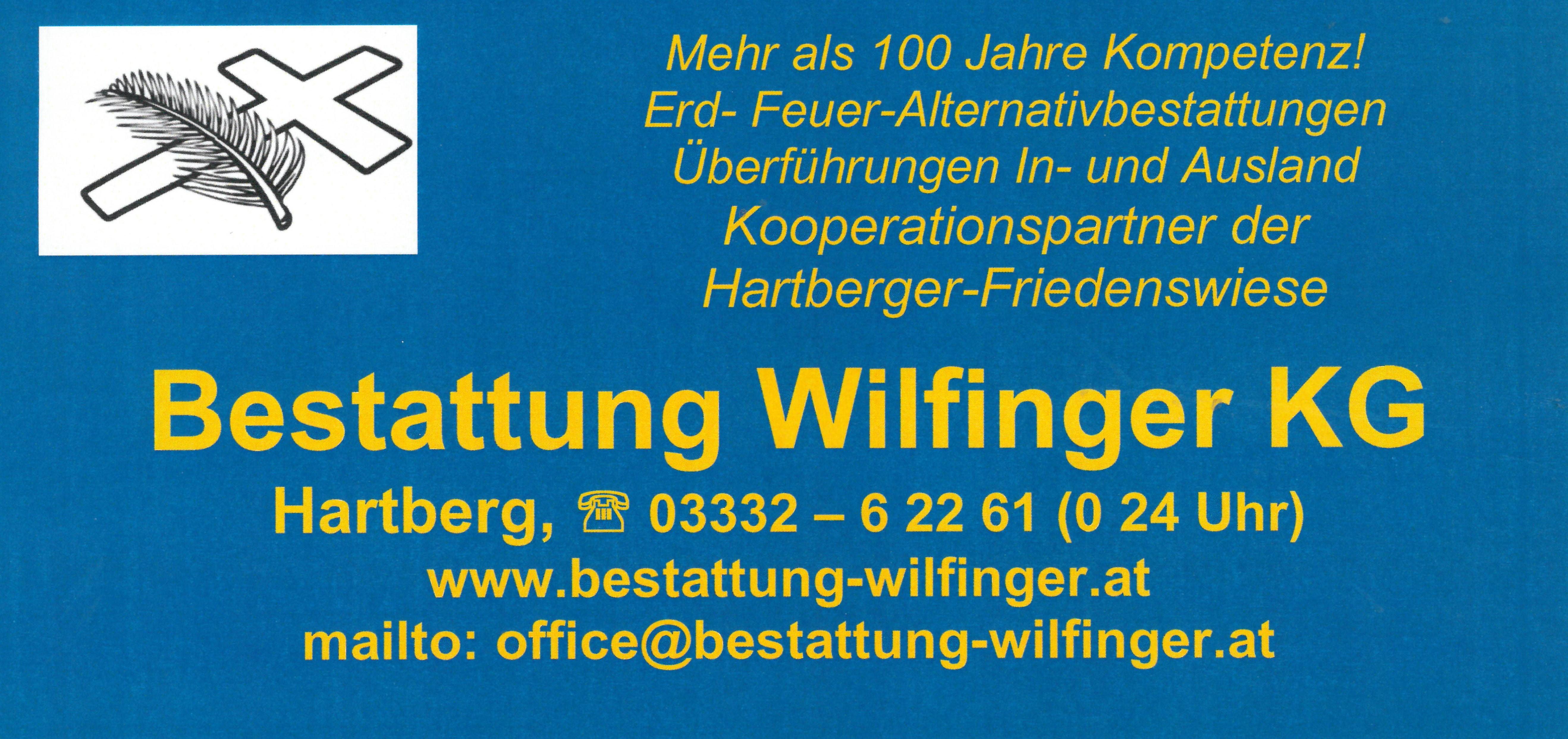 Bestattung Wilfinger