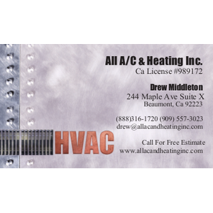 All AC and Heating Inc - Beaumont, CA 92223 - (888)316-1720 | ShowMeLocal.com