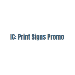 IC: Print Signs Promo