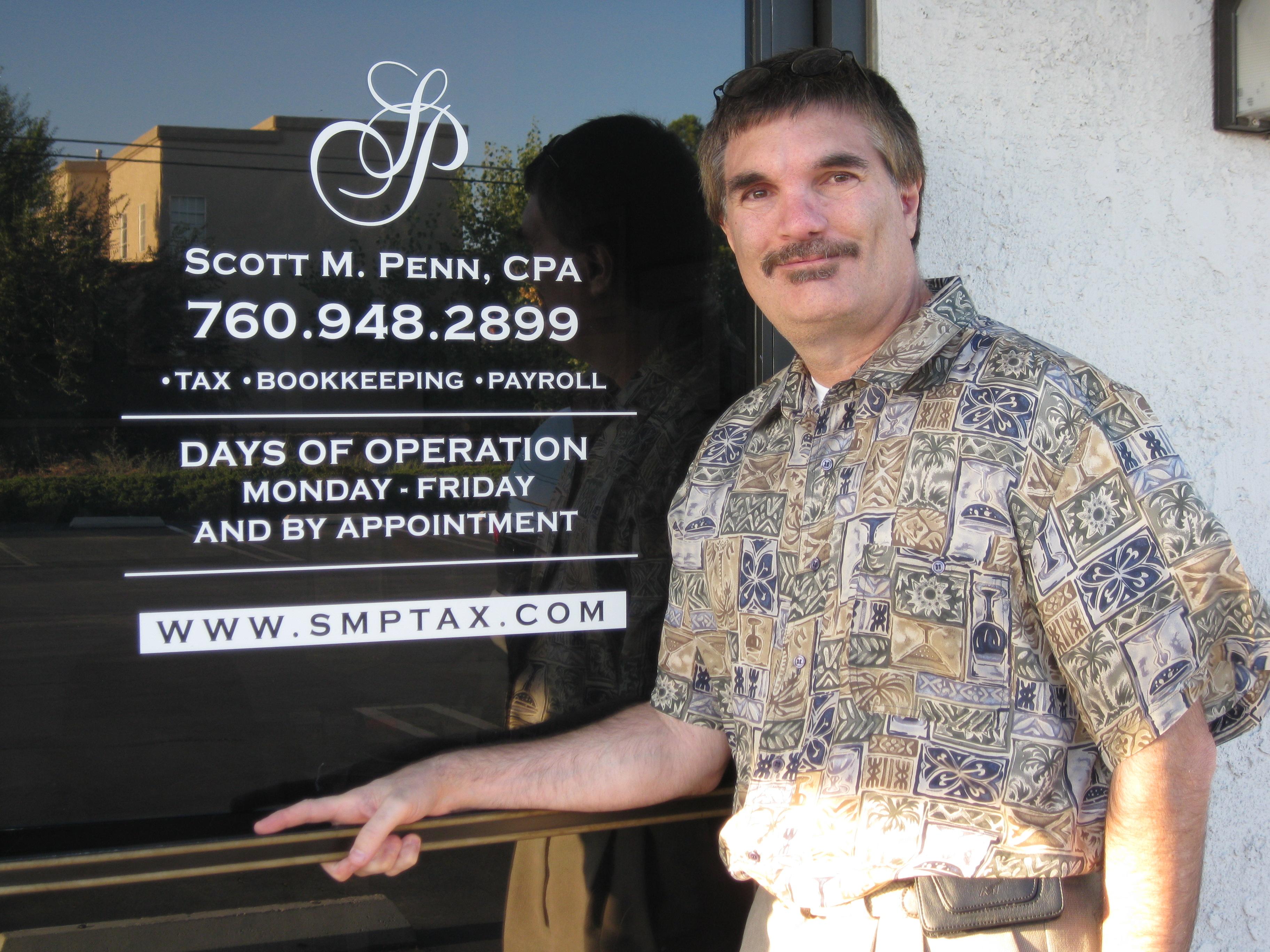 Scott M. Penn, CPA, PC - Tax Preparation & Tax Relief Services - ad image