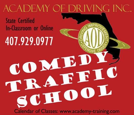 Florida Comedy Traffic School & Court Ordered Classes