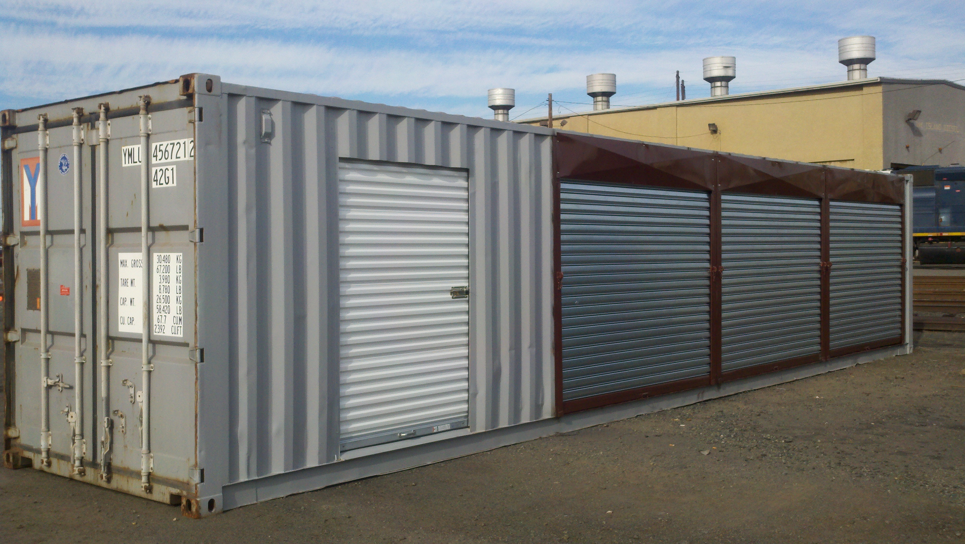 Intercube containers in stonington ct 06355 for Shipping containers for sale in minnesota