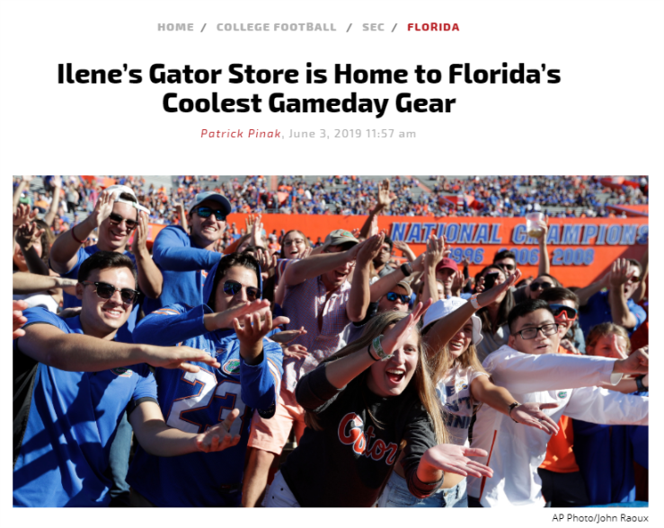 Ilene's Gator Store
