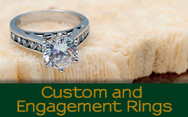 Golden Lion Engagement Rings image 6