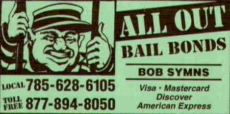 All Out Bail Bonds - Hays, KS - Credit & Loans