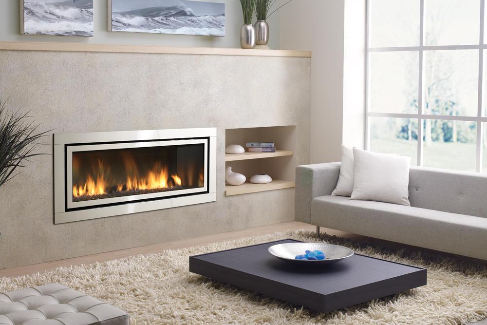 Fireplace Gallery in Edmonton: Regency Horizon Contemporary Gas Fireplace - HZ54