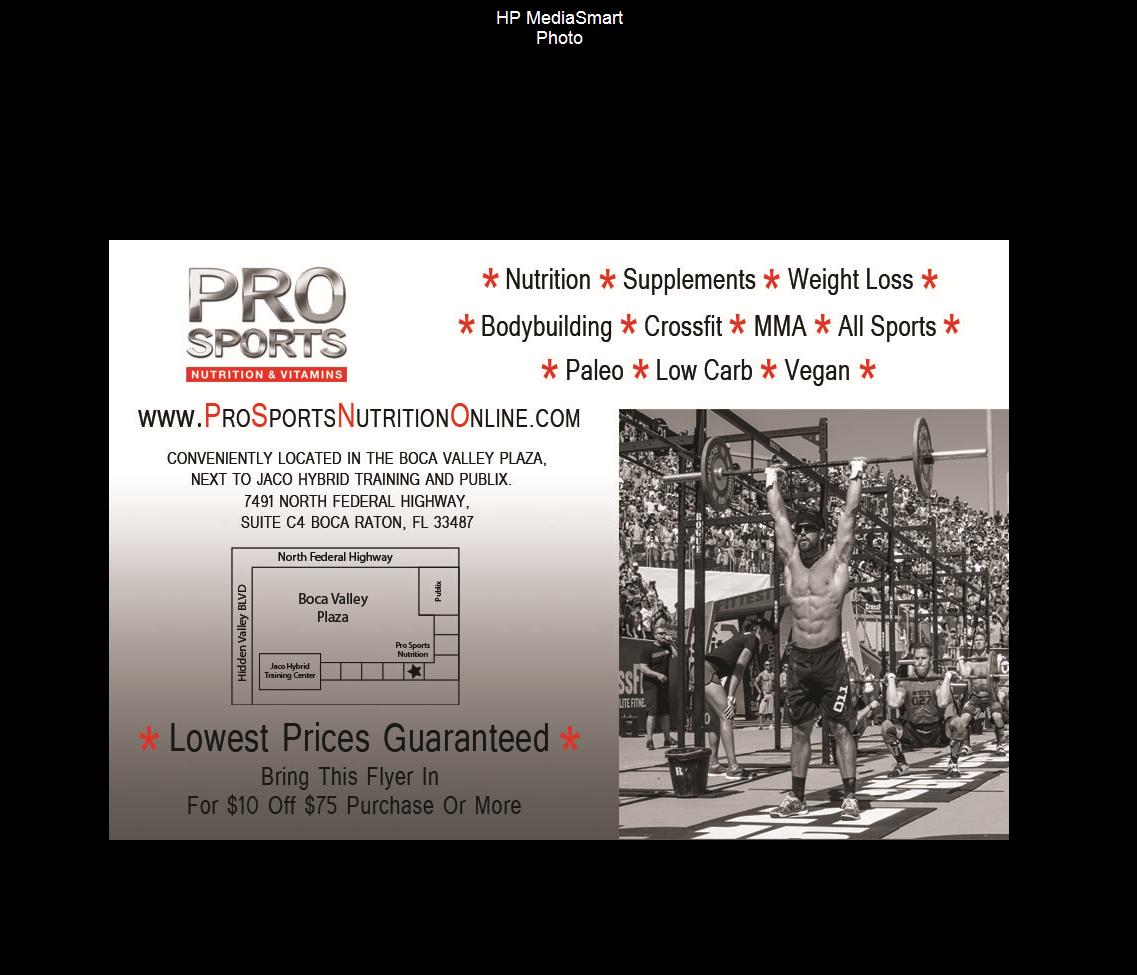 Pro Sports Nutrition