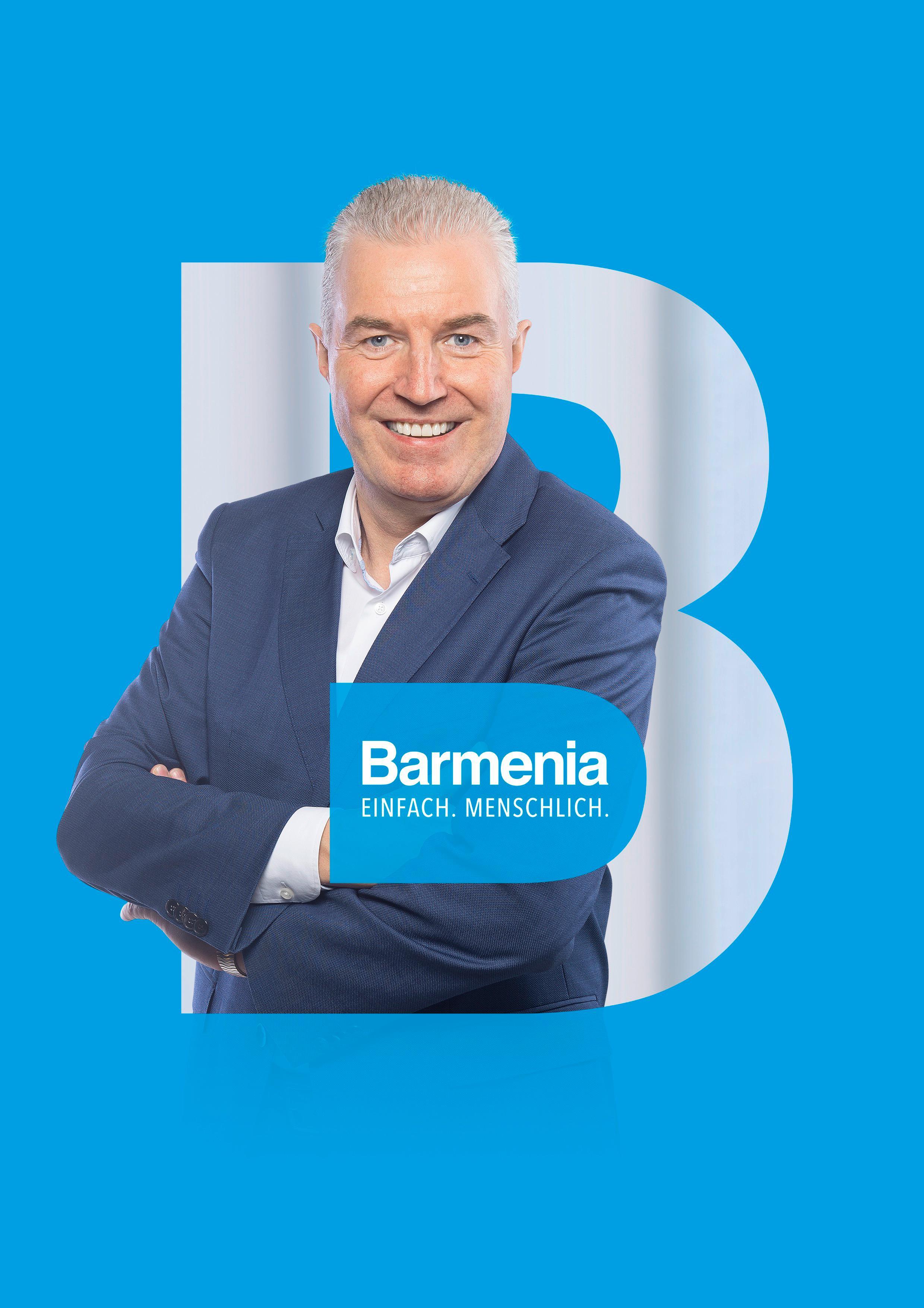 Andreas Neumann. Ihre Ansprechpartnerin für die Barmenia Versicherung in Essen.