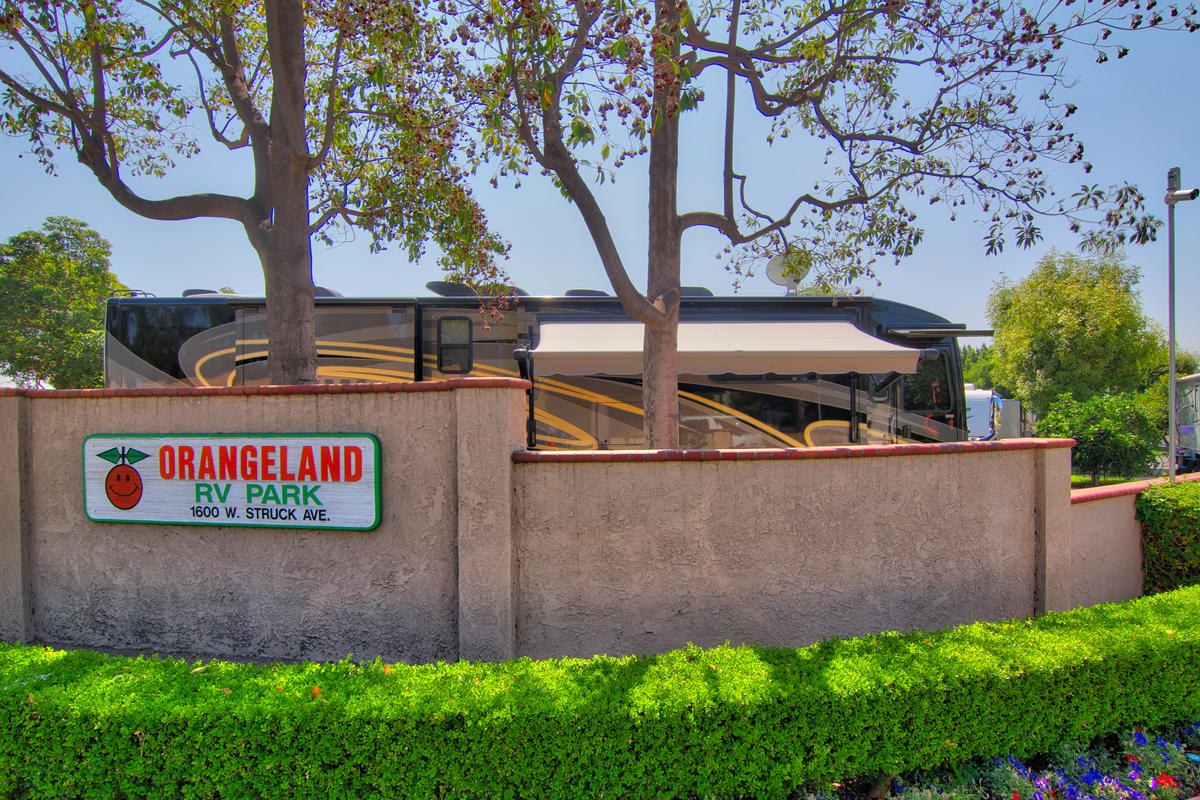 Orangeland Rv Park Orange California Ca Localdatabase Com