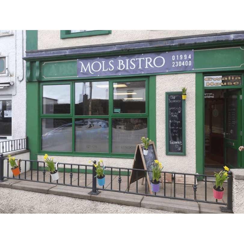 Mols Bistro - Carmarthen, Dyfed SA33 4AA - 01994 230400 | ShowMeLocal.com