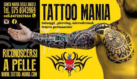 Art Tattoo Mania Assisi Tatuaggi e Piercing