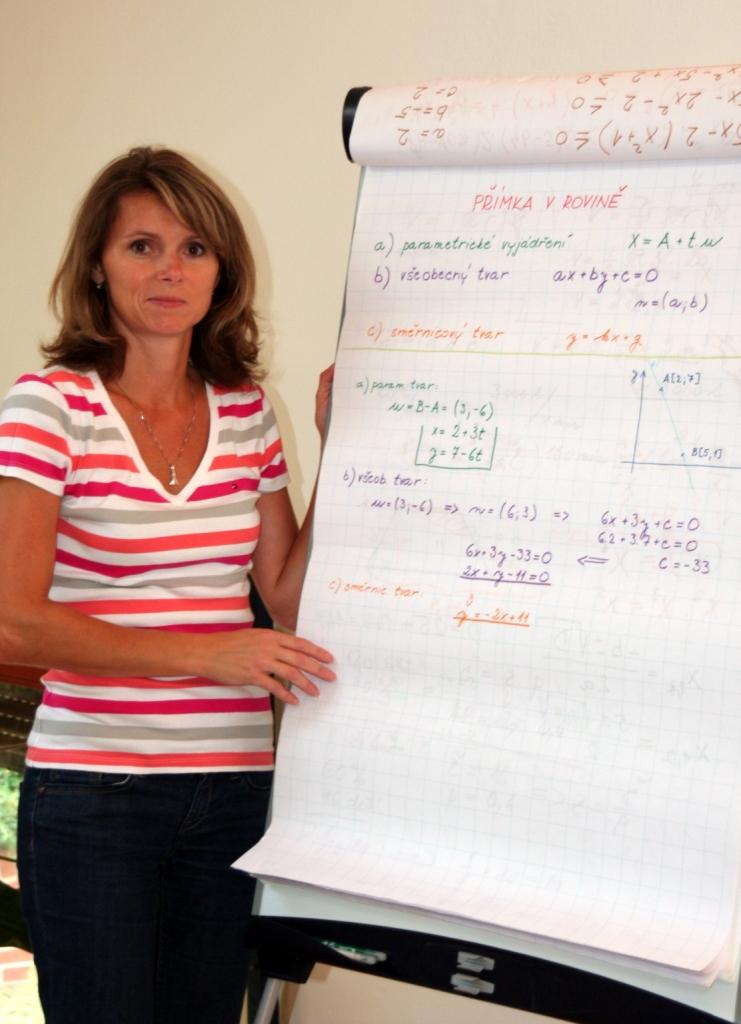 Ing. Markéta Čiperová - soukromá učitelka matematiky