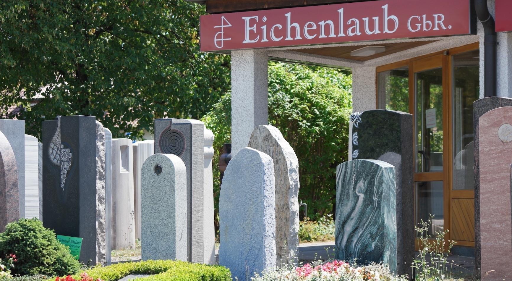 Robert und Harald Eichenlaub  -  Natur- und Grabsteine GbR
