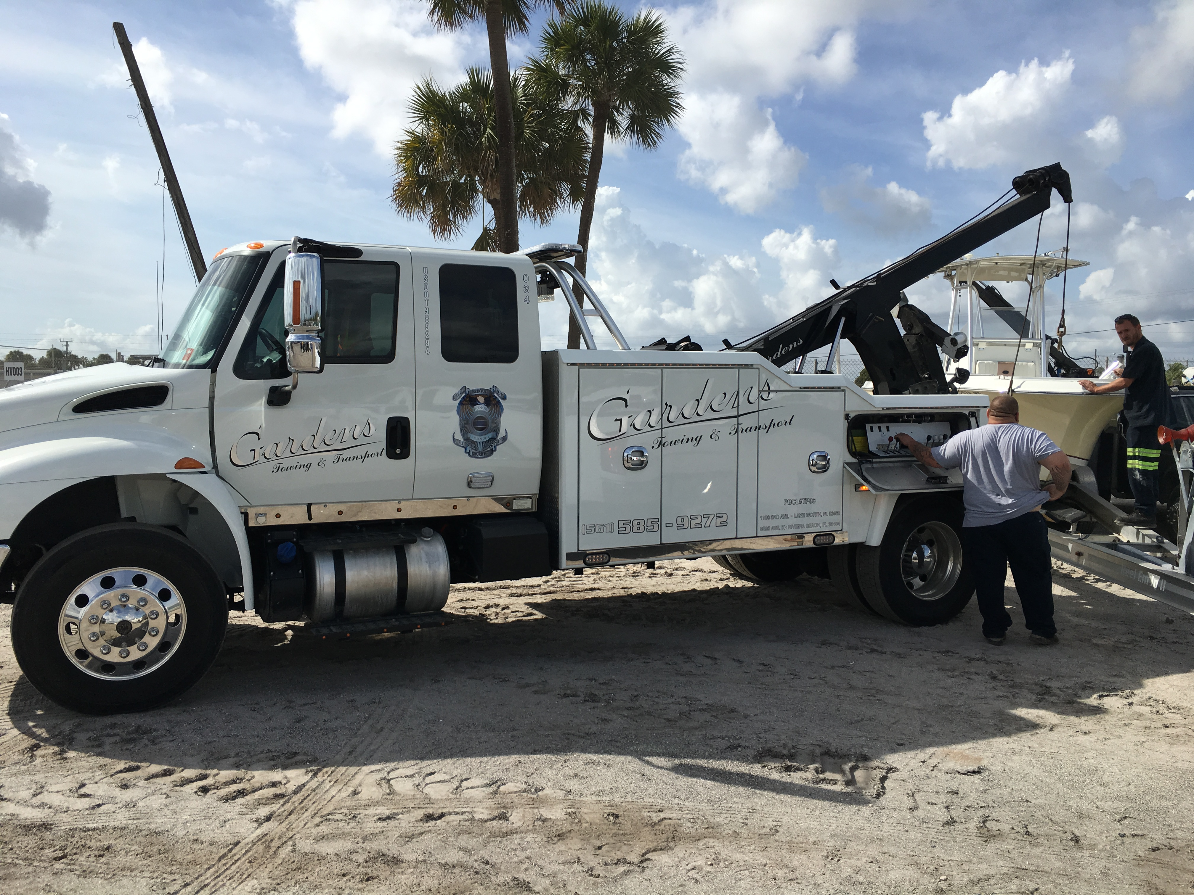 Gardens Towing Amp Transport Riviera Beach Florida Fl