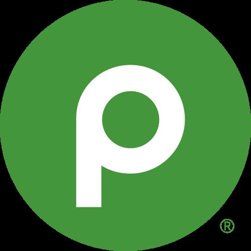 Publix Super Market at Marathon Logo