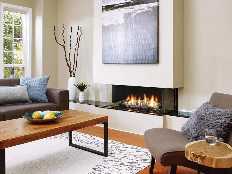 Fireplace Gallery in Edmonton: Regency City Series San Francisco Bay 40 Modern Gas Fireplace