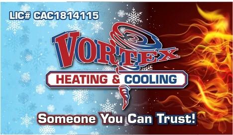 Vortex Heating & Cooling