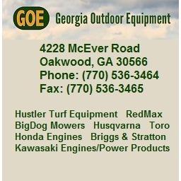 Georgia Outdoor Equipment